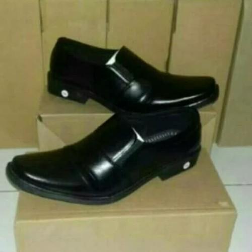 Foto Produk Sepatu fantofel pantofel vantofel pria kulit sintetis - Hitam, 39 dari al baroka