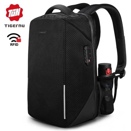 """Foto Produk Tigernu Tas laptop RFID TSA Lock Anti Maling 15.6"""" USB T-B3655 dari EliteGen"""