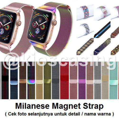 Foto Produk Apple Watch iWatch 42mm 42 mm - Strap Milanese Band Stainless Tali dari kioscasing