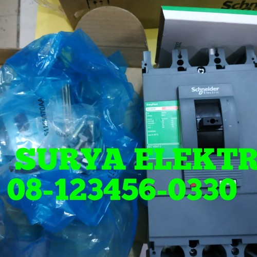 Foto Produk SCHNEIDER MCCB EZC630H EZC 630H 3P 600A 600 A EZC630H600 50kA dari SURYA-ELEKTRIK