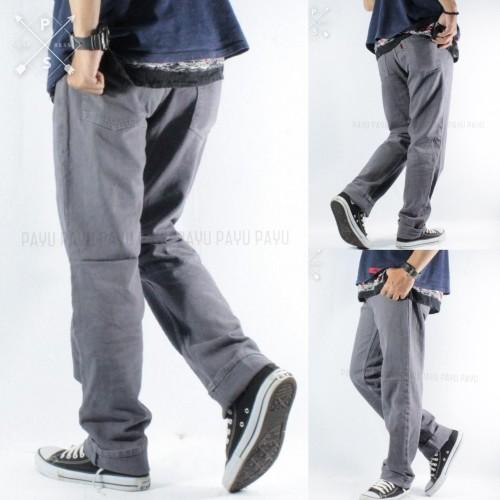 Foto Produk Celana Jeans Pria Panjang REGULER STANDAR Keren Berkualitas - Abu dari PAYU PRODUCT