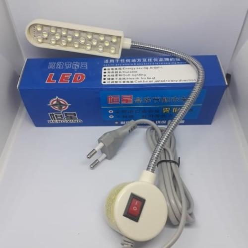 Foto Produk Lampu Mesin Jahit LED 20 Titik Magnet HengXing dari jsnshop