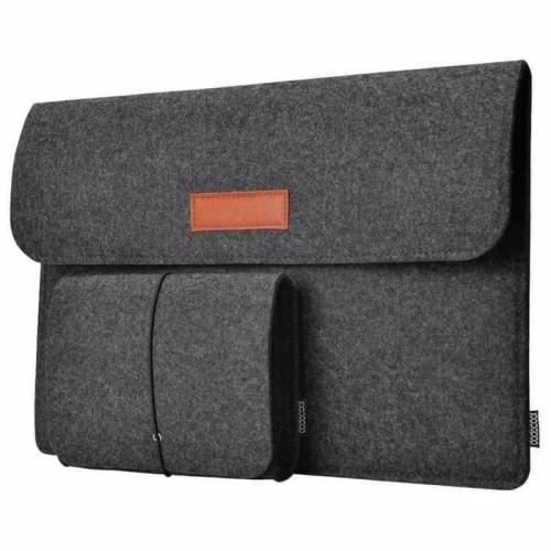 Foto Produk Sleeve Case laptop MacBook 12 13inch pro air FREE Pouch Tas Adapter dari ORIGINALproducts JAKARTA