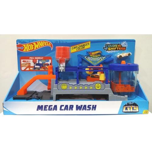 Foto Produk MATTEL, Hot Wheels Hotwheels Mega Car Wash Play Set dari Top Bricks & Toys