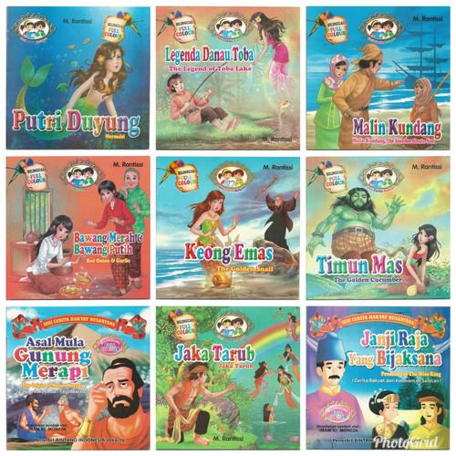 Foto Produk Buku Anak, Buku Cerita Bergambar Seri Cerita Rakyat Nusantara 2 Bahasa dari Kedai Kadoku