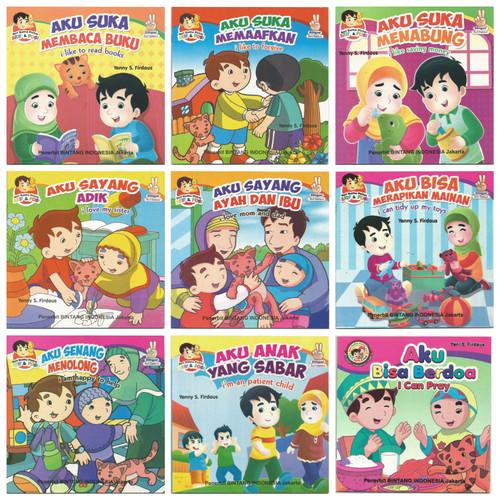 Foto Produk Buku Anak Cerita Bergambar Seri Balita Pintar Bilingual Full Colour dari Kedai Kadoku