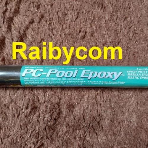 Foto Produk Lem PC POOL EPOXY Tambal Kolam Renang Spa Aquarium Bak Kolam Ikan dari Raibycom