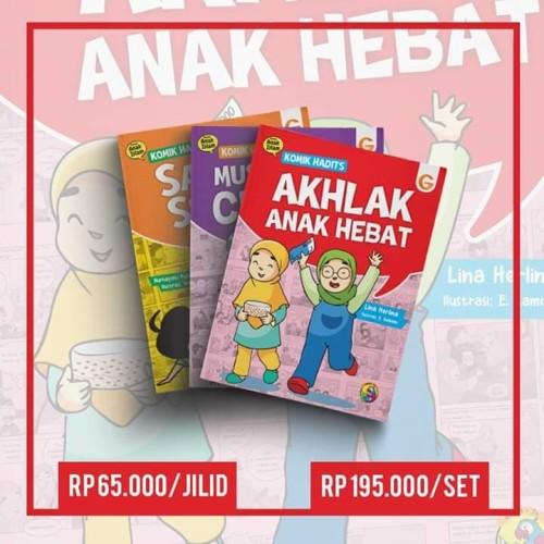 Foto Produk Paket Komik Anak Islam Komik Hadits 3 Buku dari bukulaku.id