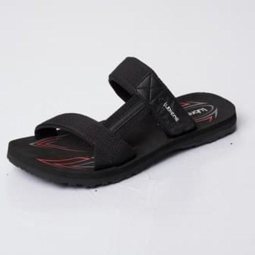 Foto Produk Sandal Sponge Pria LUBRENE CARLOS M BLACK - Black, 38 dari Lubrene Official Store