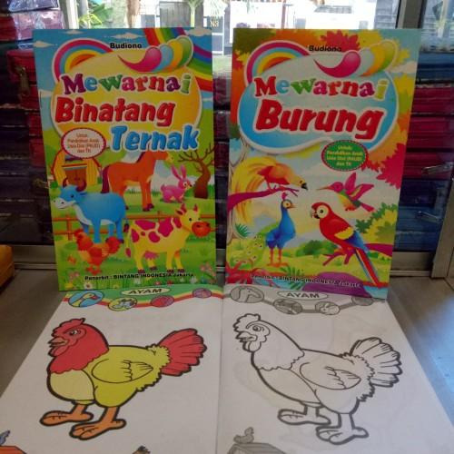 Foto Produk Buku Anak, buku mewarnai dari ALIDA