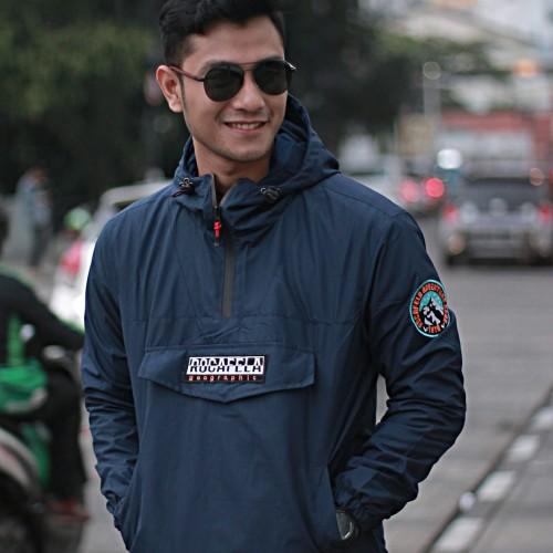 Foto Produk jaket cagoule pria / parasut taslan premium / jaket outdoor dari Key Distro Bdg