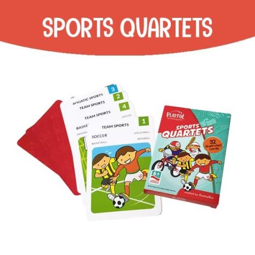 Foto Produk Sports Quartets | Playful by GummyBox dari GummyBox