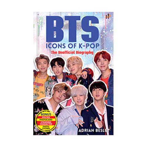 Foto Produk BTS: Icon of K-Pop The Unofficial Biography dari Bukku