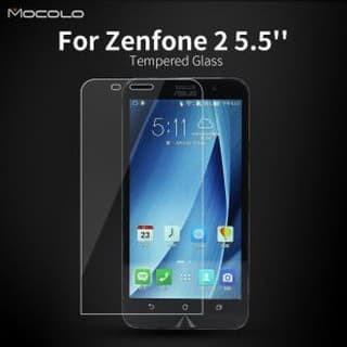 Foto Produk Tempered Glass Asus Zenfone 2 5.5 ZE550ML 551ML Anti Gores Kaca dari NYATACELL