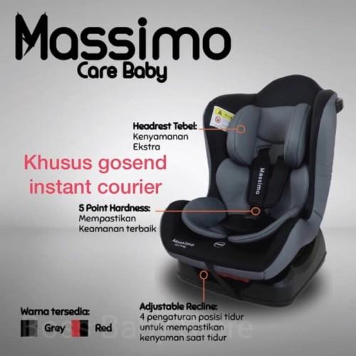 Foto Produk CAR SEAT BABY CARE MASSIMO GO JEK LANGSUNG SAMPAI - Red dari FionnaShop