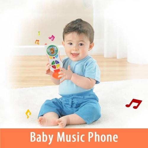 Foto Produk MAINAN BAYI TELPHONE / BABY MUSIC PHONE / HANDPHONE BAYI / HPBAYI dari Bintaro Baby Shop