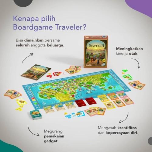Foto Produk Board Games Traveler dari matthewbookstore