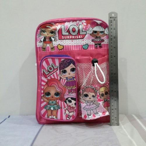 Foto Produk Tas Ransel Backpack Anak Sekolah TK PAUD Playgroup Mengaji Murah - Biru dari Winston Abadi Jaya