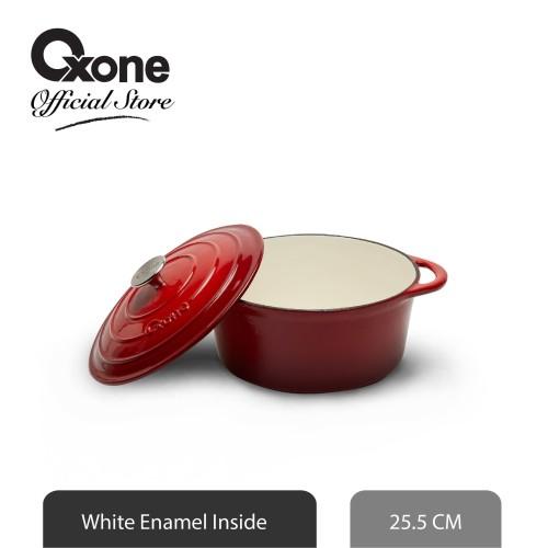 Foto Produk Oxone Round Pot 26 CM OX3025RO /Panci/ Exclusive/Anti Lengket/Baru dari Oxone Official