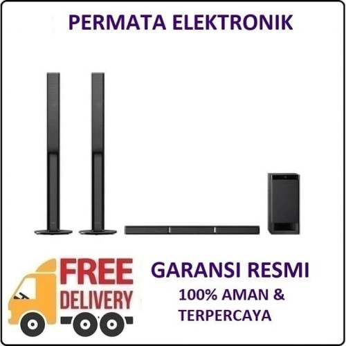 Foto Produk Sony HT-RT40 Soundbar Home Theater Surround 5.1 CH 600W Bluetooth dari Permata Elektronik