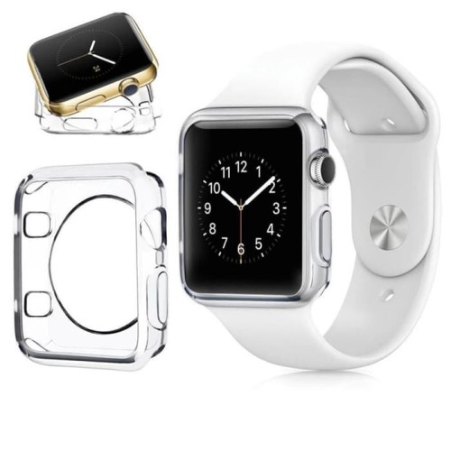 Foto Produk Tpu Soft Case apple watch iwatch casing transparan bening 38mm 42mm - 38mm dari goru