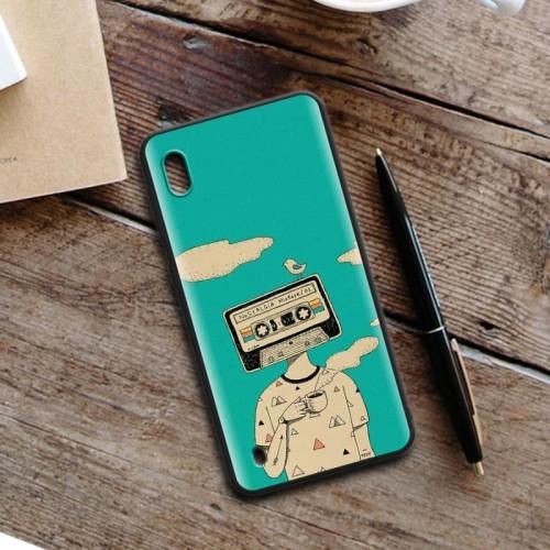 Foto Produk Premium Quality Case Samsung A10 - Custom Slim Matte Case dari Doki Custom Case