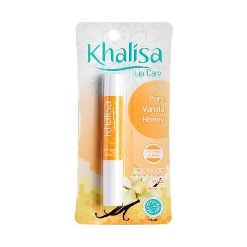 Foto Produk Khalisa Pure Vanilla Honey Lip Balm Fitur Produk Pelembab bibirTanpa dari evi rahayu
