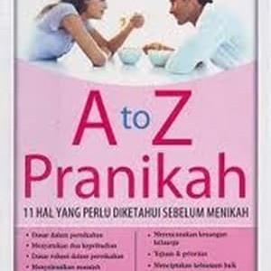 Foto Produk Buku A To Z Pranikah dari 180 christian store