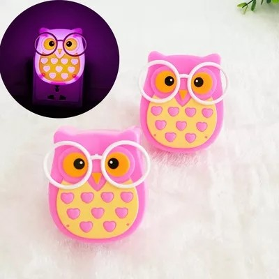 Foto Produk New Style Light Control Night Energy Saving Intelligent Led Owl dari W brands Store