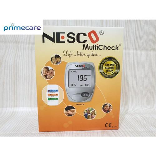 Foto Produk Alat Nesco Multicheck GCU 3 in 1 Cek Gula Darah, Kolesterol, Asam Urat dari PrimeCare