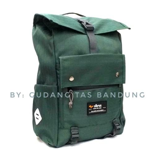 Foto Produk Tas daypack rolltop wanderdrift-Tas ransel-Tas punggung - Hitam dari gudang tas 1000