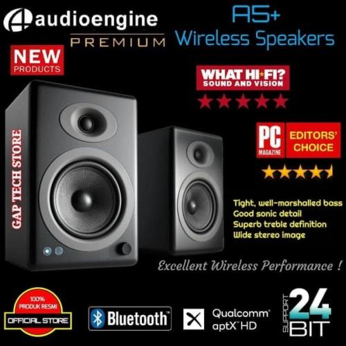 Foto Produk AUDIOENGINE A5+ / A5 Plus WIRELESS Bluetooth Speakers with Aptx HD dari Sotoya Store