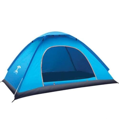 Foto Produk Tenda Camping Outdoor Pantai Dewasa Buka Otomatis 2 Meter Anti Air 001 - Biru dari lbagstore