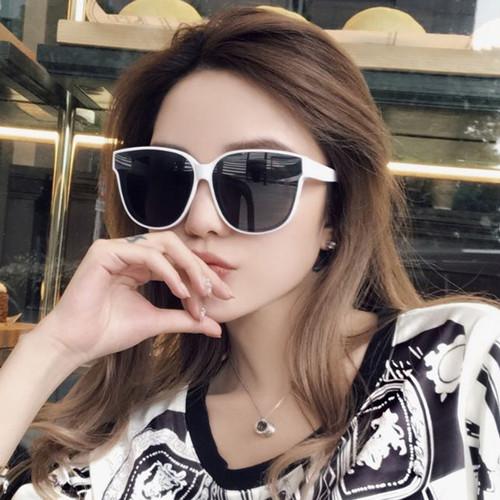 Foto Produk kacamata hitam fashion wanita big sunglasses jgl094 - Putih dari Oila