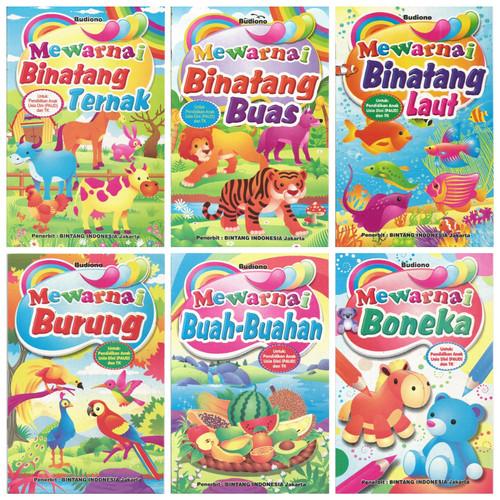 Foto Produk Buku Mewarnai Anak Size Medium Edukasi Murah Meriah Termurah dari Kedai Kadoku