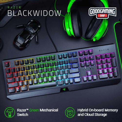 Foto Produk Razer Blackwidow Mechanical Gaming Keyboard dari GOODGAMINGM2M