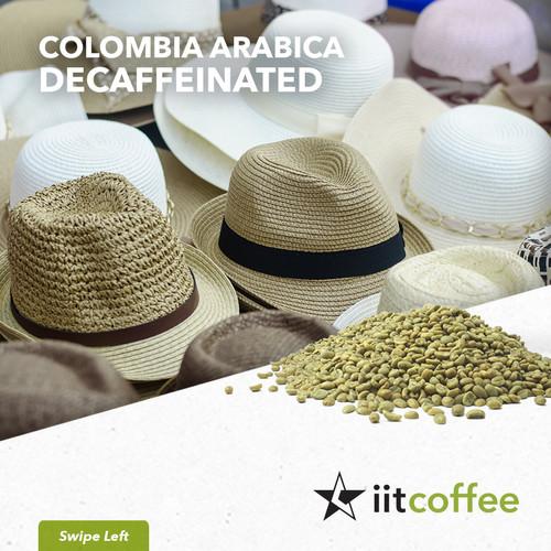 Foto Produk Arabica Green Beans - Colombia Decaffeinated - 1Kg dari iit.coffee