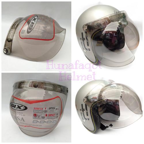 Foto Produk KACA VISOR CEMBUNG HELM RETRO KLASIK BOGO CARGLOS GIX NASA dari Huna Faqot Helmet