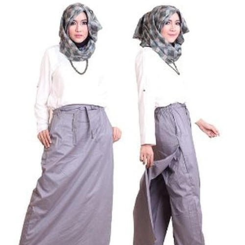 Foto Produk DISKONGEDE Rocella Rania XXL XXXL Rok Celana Muslimah T TERBARU dari Desi Elawati