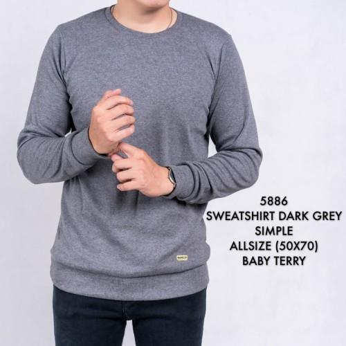 Foto Produk Baju Kaos Lengan Panjang   Sweatshirt Sweater Cowok dari ALJOSA