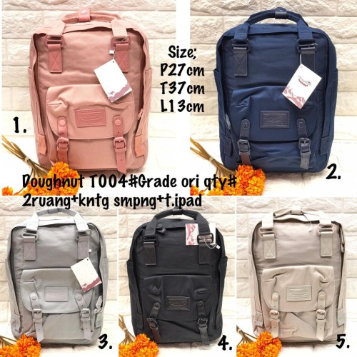 Foto Produk Tas Ransel / Tas Backpack Doughnut Grade Ori Import - T004 dari Wishera Fashion