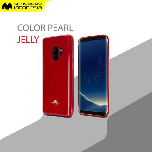 Foto Produk Goospery Samsung A9 2016 / A9 Pro 2016 (A900 / A910) Pearl Jelly Case - Red dari Goospery Indonesia