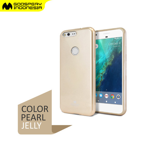Foto Produk GOOSPERY Oppo A71 Pearl Jelly Case - Gold dari Goospery Indonesia