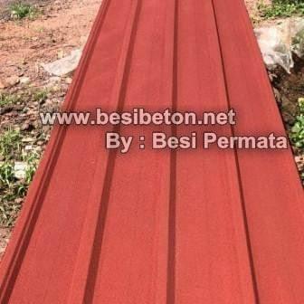 Foto Produk Spandek Pasir untuk atap Murah dari Besi Permata