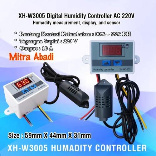 Foto Produk XH-3005 Digital Humadity Controller AC 220V dari Toko Mitra Abadi
