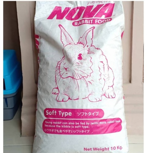 Foto Produk Nova Rabbit Food Natural Repack 1 kg dari Helios Pet And Hobbies