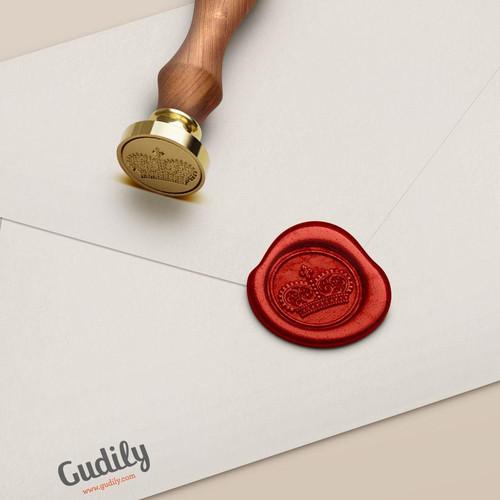 Foto Produk Gudily Victorian Crown Wax Seal dari gudily