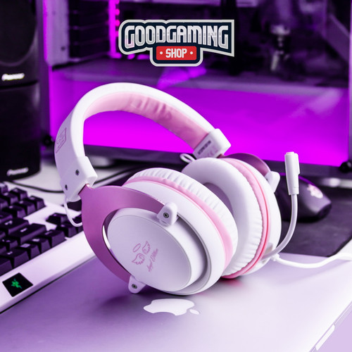 Foto Produk Sades MPower Multiplatform Gaming Headset PINK EDITION dari GOODGAMINGM2M