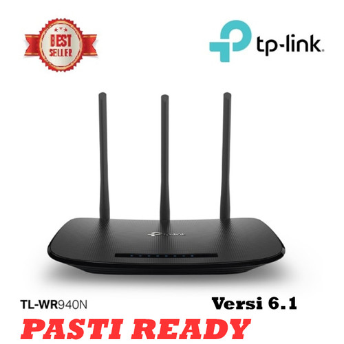 Foto Produk TP-Link TL-WR940N : TPLink WiFi 450Mbps Wireless N Router dari Trinity Plaza