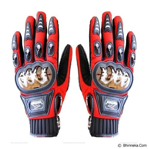 Foto Produk Sarung tangan motor MADBIKE MAD-01S stainless steel protector dari Kitaro MotorShop